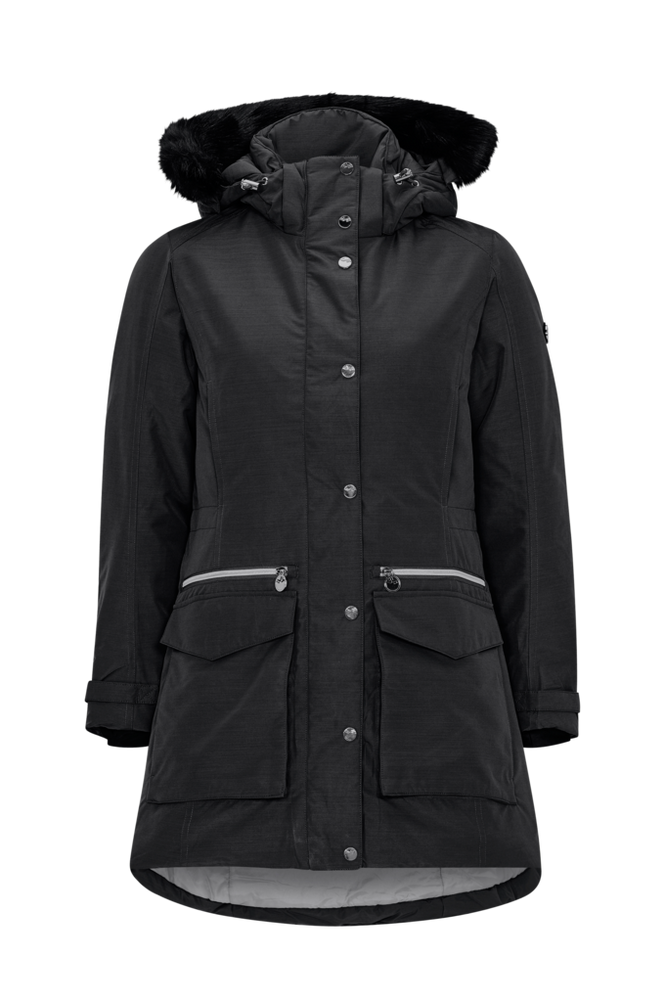 Röhnisch Parkas All Weather Parka Women Black