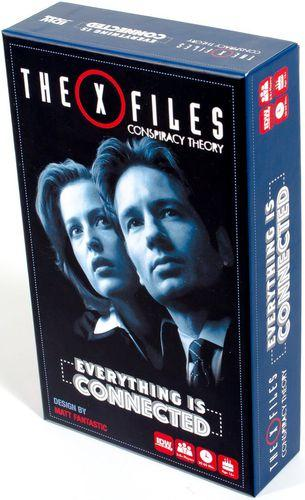 X-Files Conspiracy Theory Brettspill Evrerything is Connected