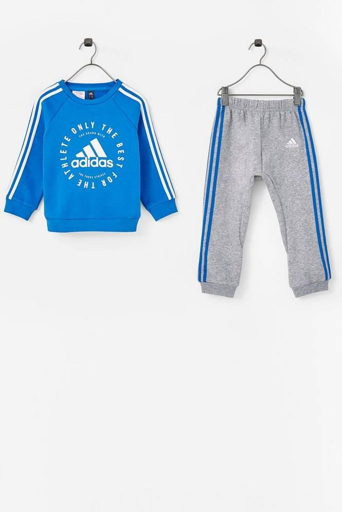 3e698a7e adidas Sport Performance Joggedress Fleece 3-stripes Jogger Set Unisex True  blue/white