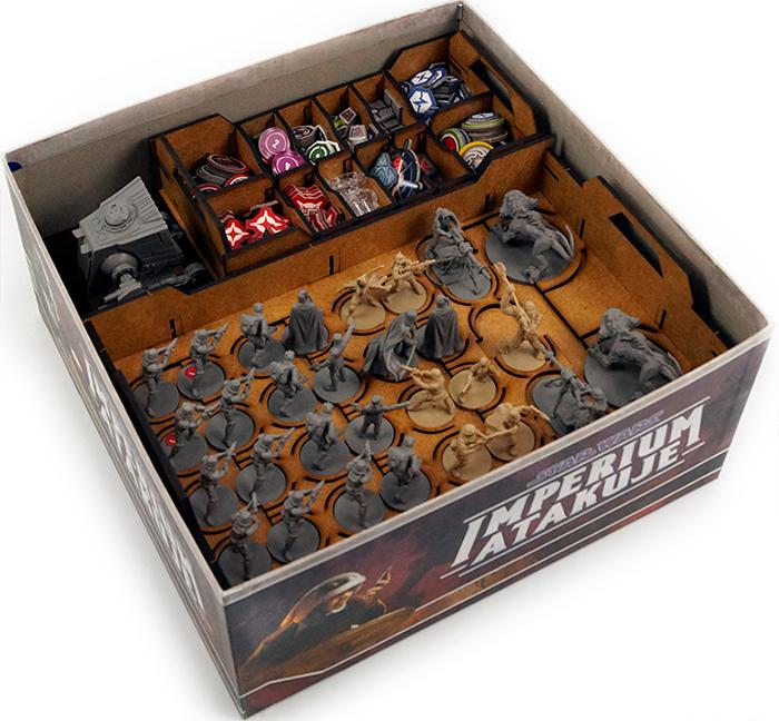 Star Wars Imperial Assault Insert Hold kontroll i spillboksen