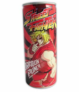 Energidrikk Street Fighter Dragon Punch 2,5dl Energy drink