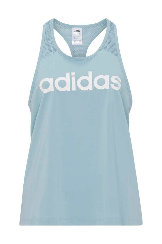 adidas Sport Performance Treningssinglet Design 2 Move Logo Tank Top Women Ash grey