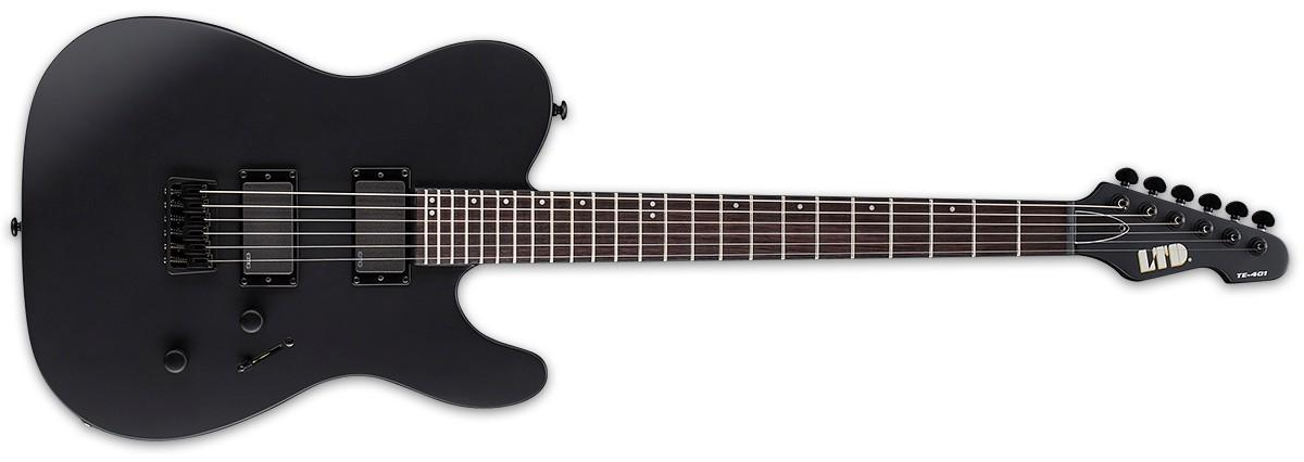LTD TE401 Black Satin