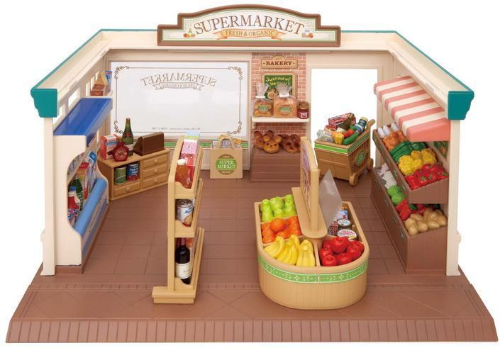 Sylvanian Families Supermarked