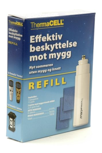 THERMACELL MYGGJAGER REFILL