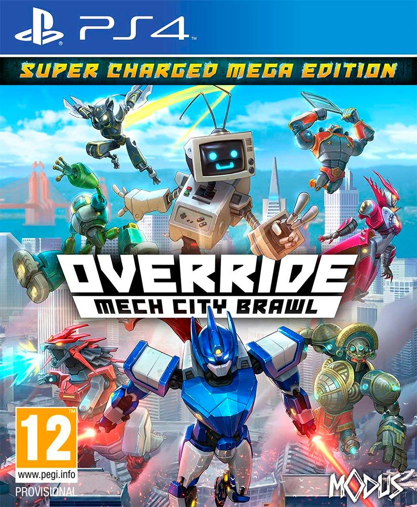 Override Mech City Brawl PS4 Super Charged Mega Edition