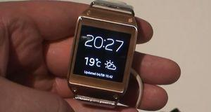 Se video av Galaxy Gear