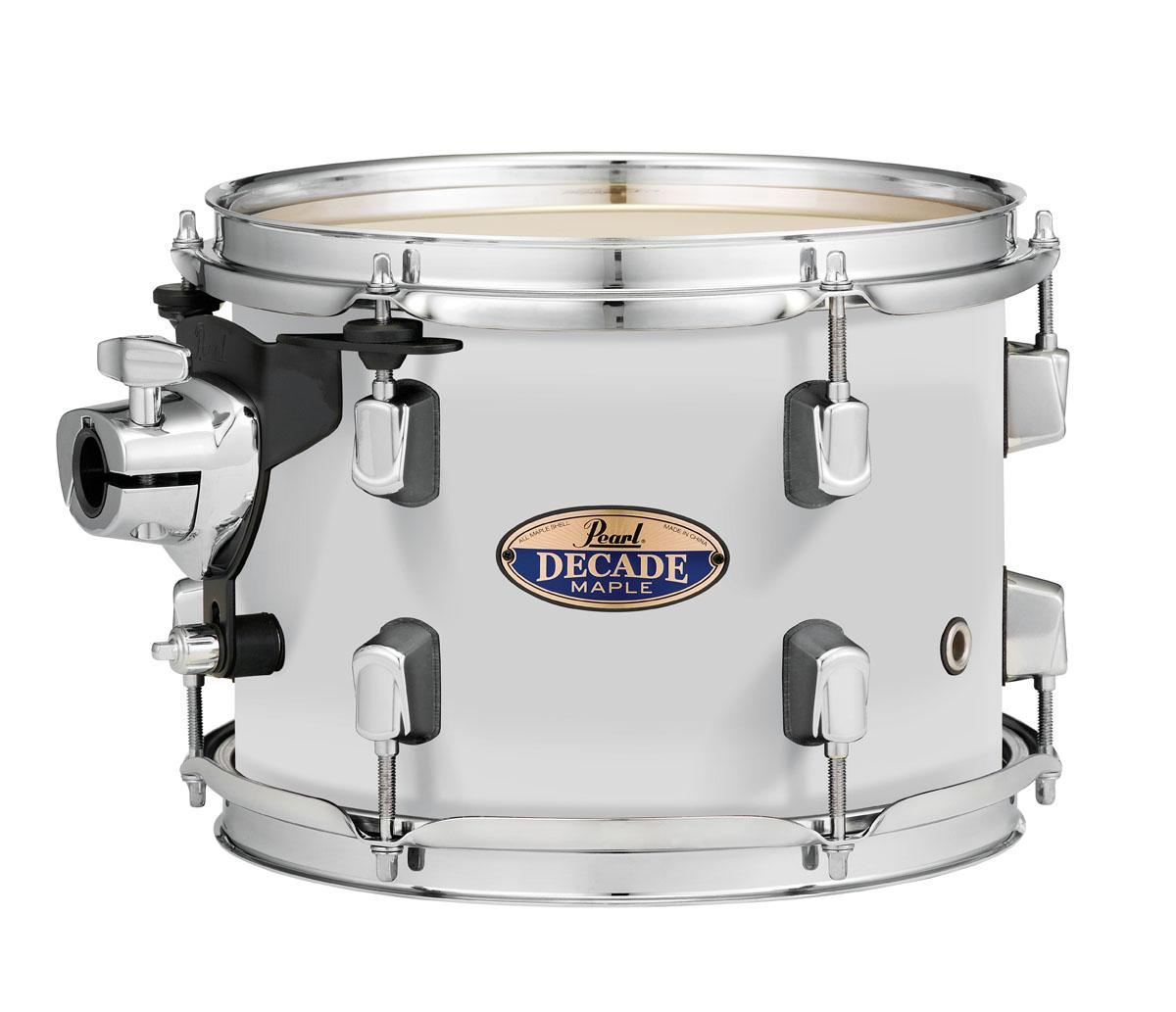Pearl Decade Maple 10x7 Tom W/OPL White Satin Pearl