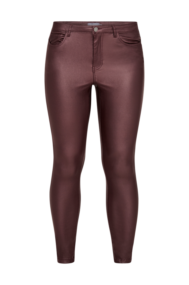 Junarose Jeans jrFive NW Dagny Coated Women Decadent chocolate
