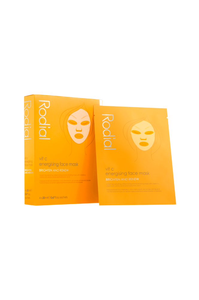 Rodial Vit C Energising Face Mask 4 stk Unisex No color