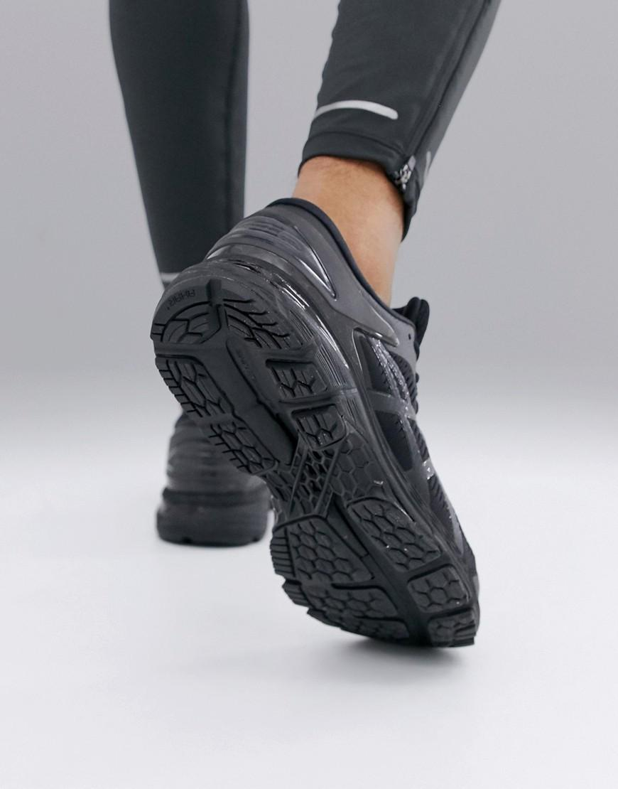 Asics gel kayano 25 trainers in black