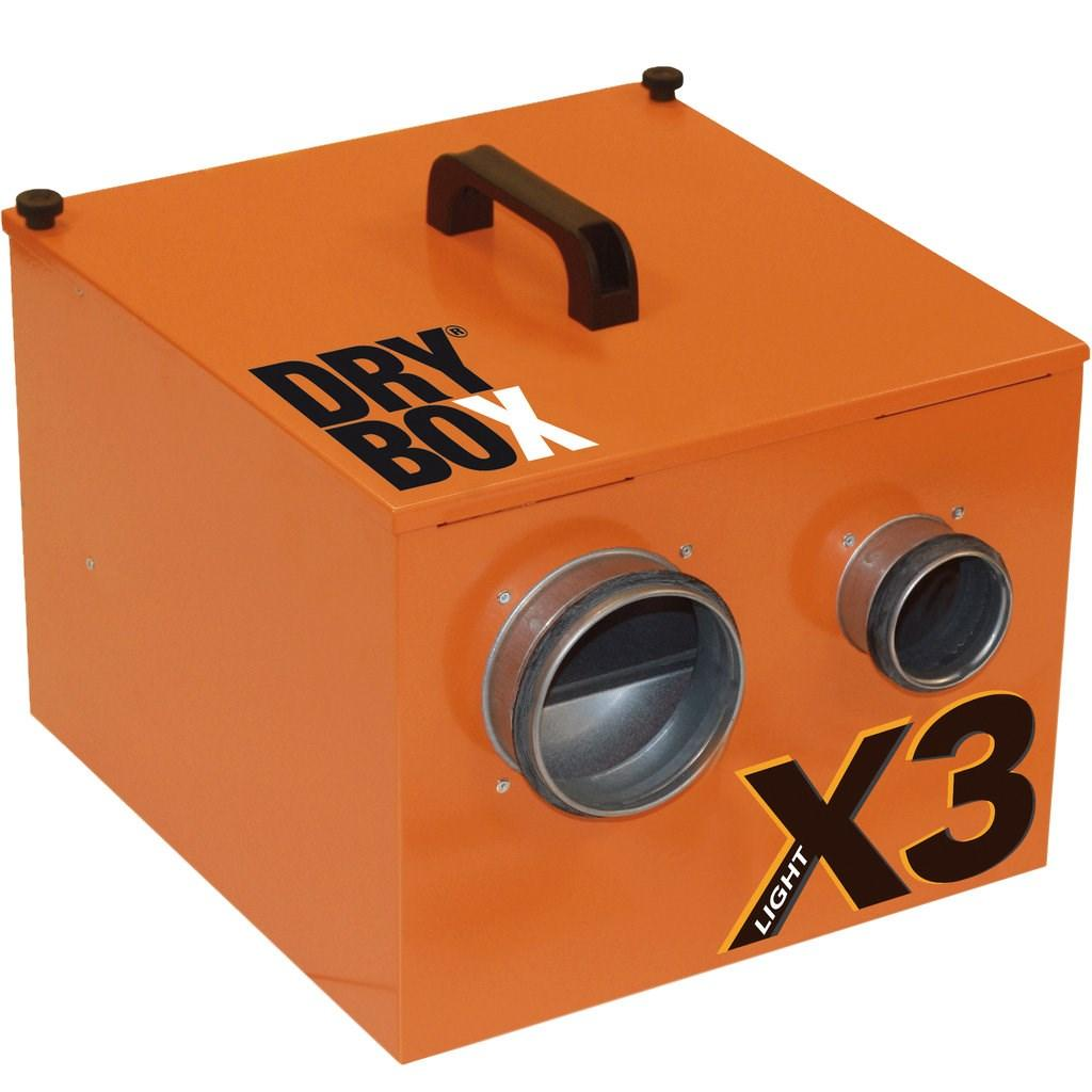 DRYBOX Krypgrunnsavfukter X3 Light