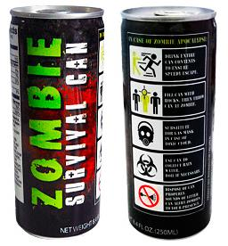 Energidrikk Zombie Survival Can 250ml Energy drink