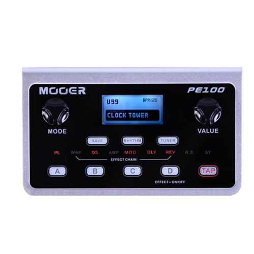 Mooer PE100 Portable Guitar Effects (with power adapter)