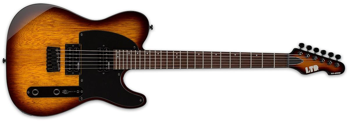 LTD TE 200 Tobacco Sunburst
