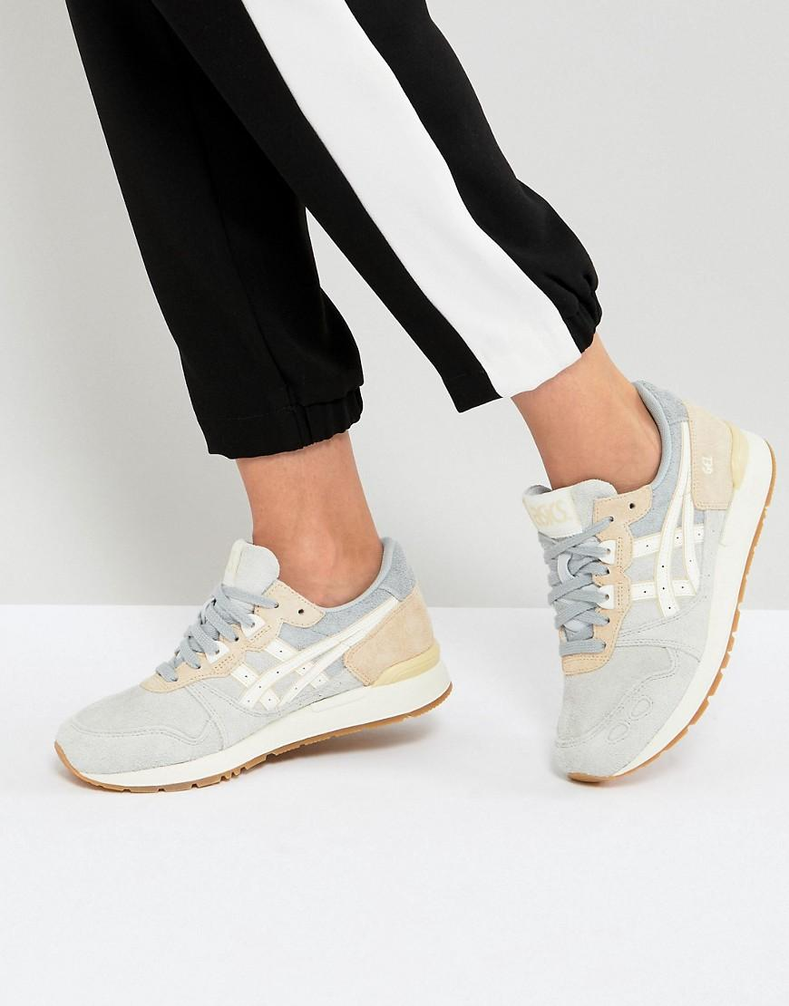 Asics Gel-Lyte Trainers In Grey And Cream