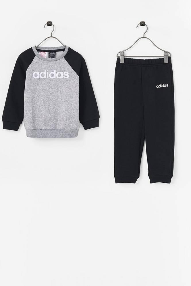 3a9ff019 adidas Sport Performance Joggedress Linear Fleece Jogger Unisex Medium grey  heather/black/white