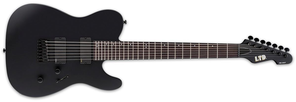 LTD TE417 Black Satin