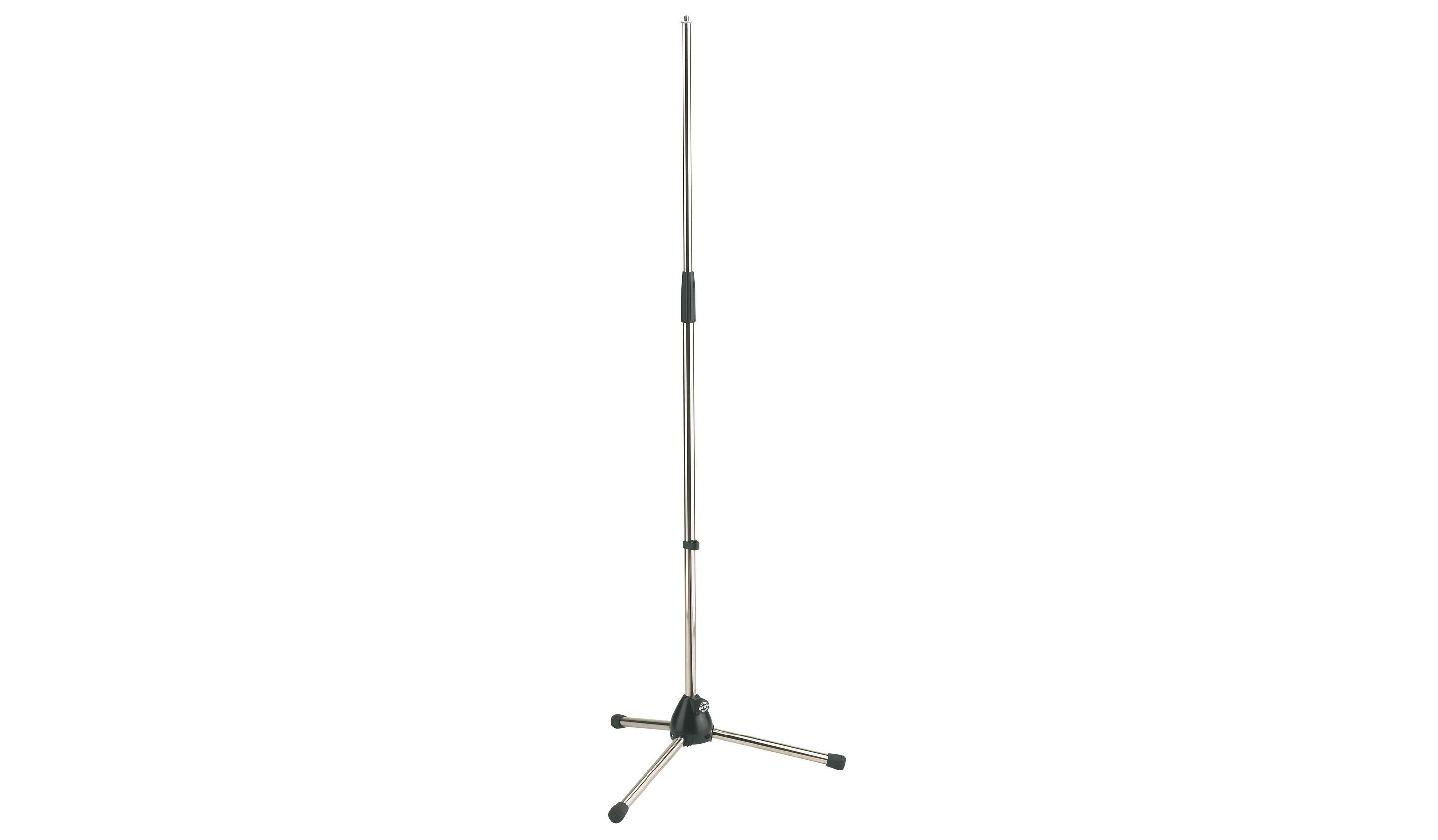 K&M 20120 MICROPHONE STAND nickel