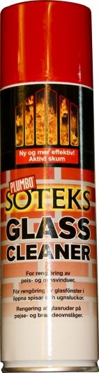 SOTEKS GLASSRENS 250ML