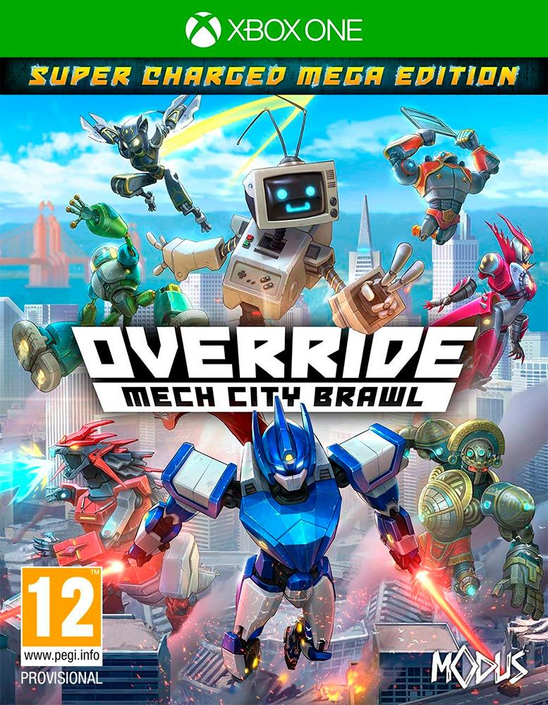 Override Mech City Brawl Xbox One Super Charged Mega Edition