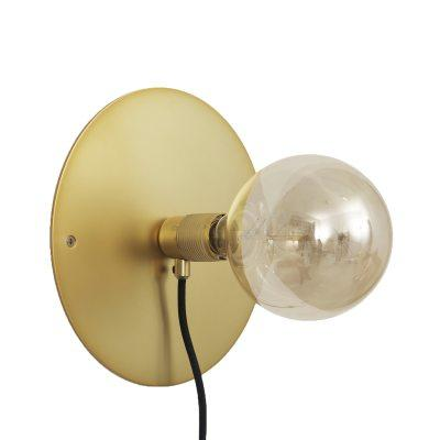 Wall Frama lampe, messing