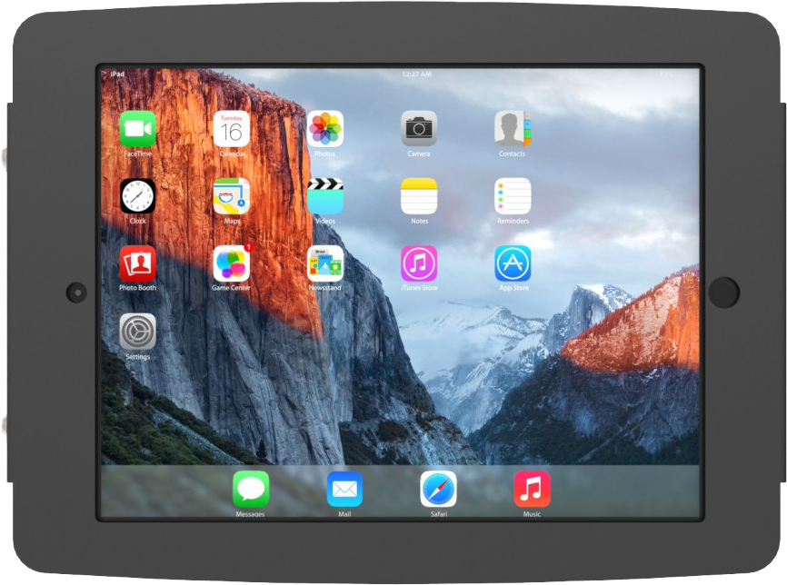 Maclocks Enclosure Wall Mount (iPad Pro 10.5) - Hvit V7284-5