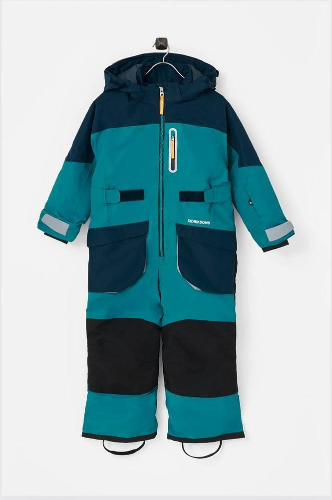 9cacd5fd Didriksons Vinterdress Sogne Kids Coverall Unisex Glacier blue