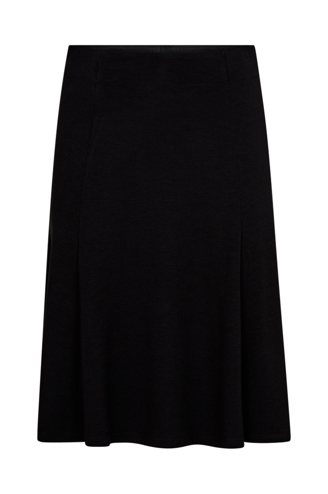 Saint Tropez Skjørt Jersey Skirt Women Black