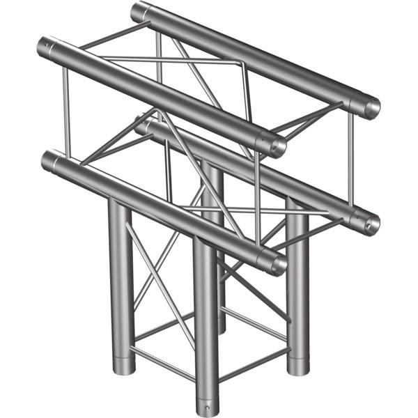 PROTRUSS SQ22T3 3-way T joint for SQ22 Series, extrude tube 35x2mm, 2xFCQ3 incl