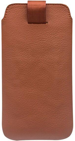 Qialino Leather Pouch (iPhone X/Xs) - Brun L222-1