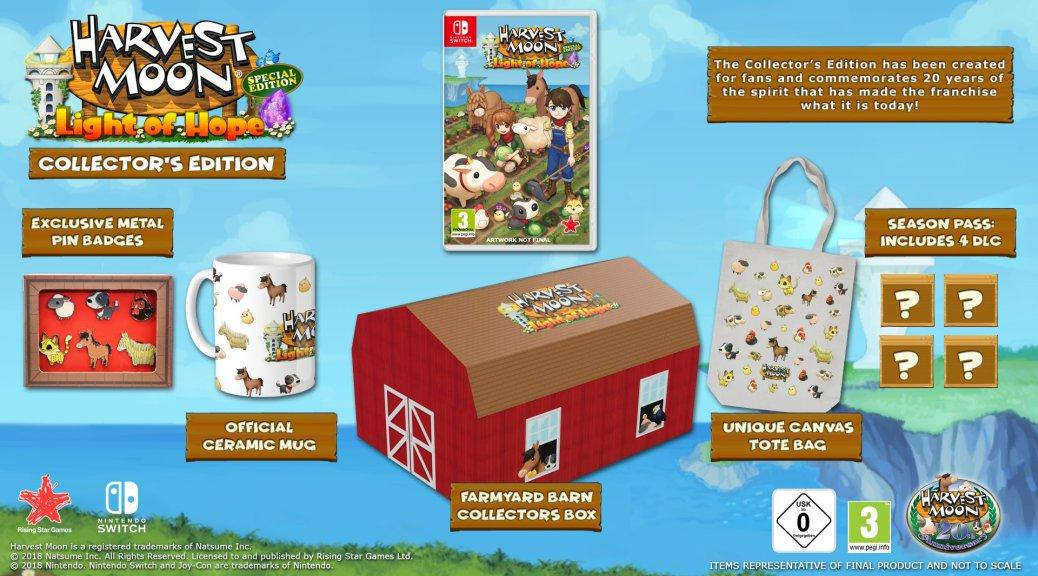 Harvest Moon Light of Hope CE Switch Collector's Edition