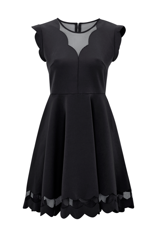 By Malina Kjole Frida Dress Women Black