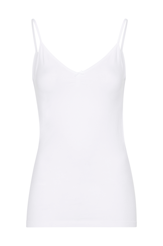 Saint Tropez Singlet Women White
