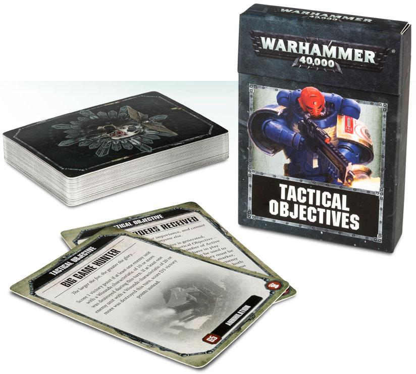 Warhammer 40K Tactical Objective Cards 8th Edition