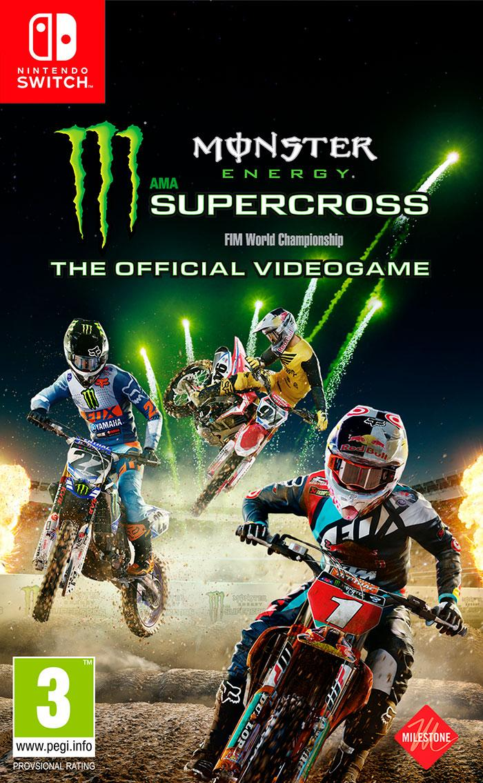 Monster Energy Supercross Switch The Official Videogame