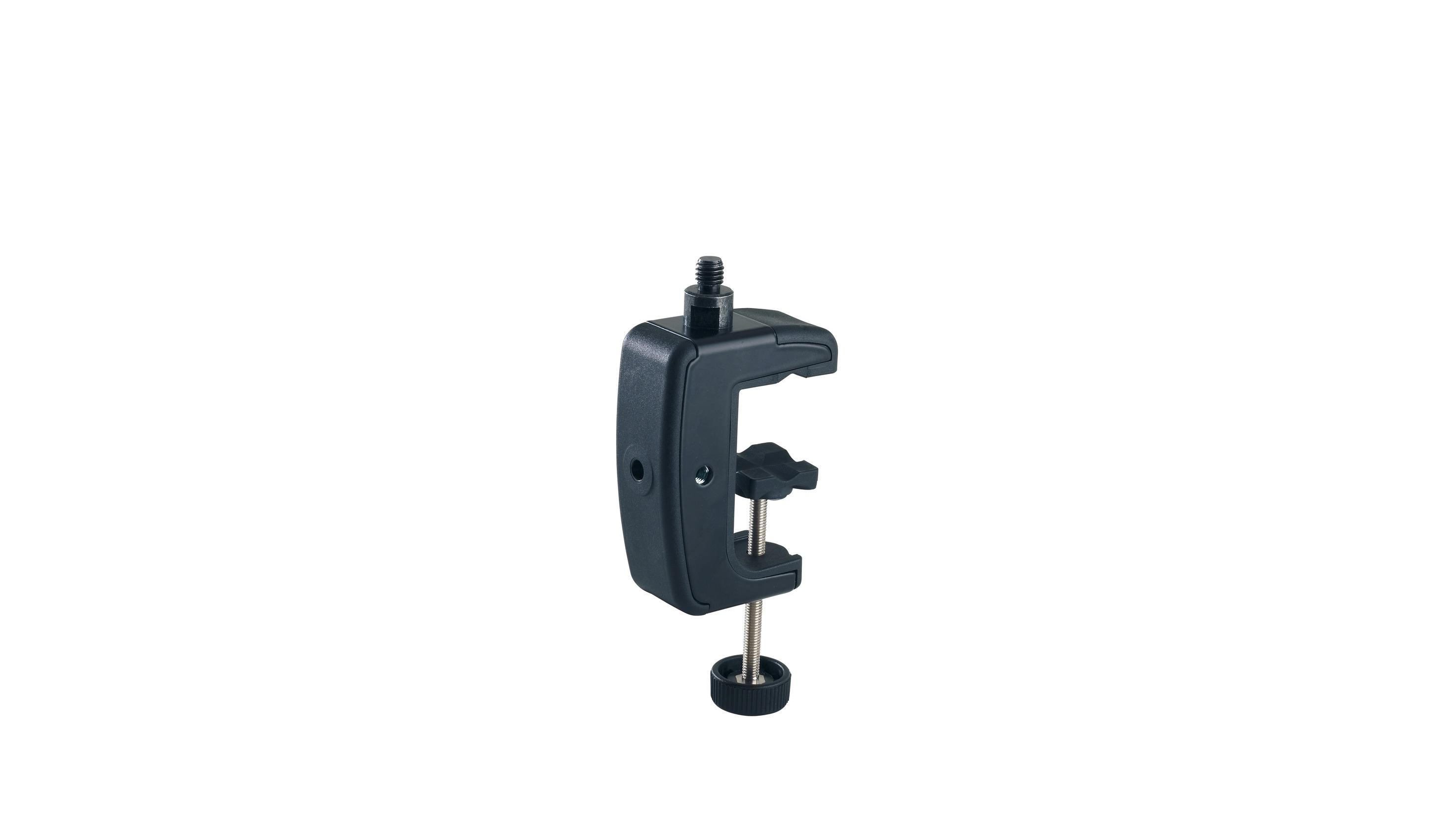 K&M 23720 TABLE CLAMP black 3/8