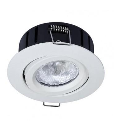 RAMO El-Engros AS LED Charon 75 IsoLed Antiglare 5W Matt Hvit 2700K IP44