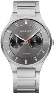 Bering 11539-779 Titanium Sølvfarget/Titan Ø39 mm