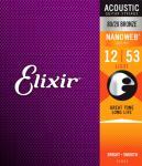 Elixir Nanoweb ak.gitar 6str. Light (012-053) 11052