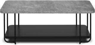 TEMAHOME Sesseh Sofabord 120 cm - Svart/Betong