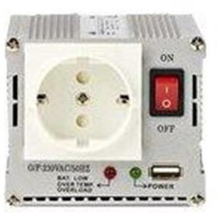 Nedis PIMS30012 - DC to AC power inverter - 300 Watt Strømforsyning (PSU) - 300 Watt - 80 Plus PIMS30012