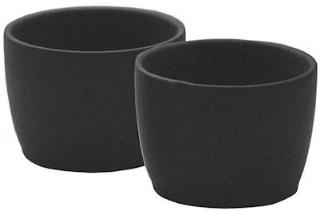 Ronneby Bruk Dip-skål fondue, keramikk, 2 pk