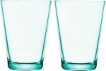 Kartio glass 40 cl 2-pk vanngrønn Iittala