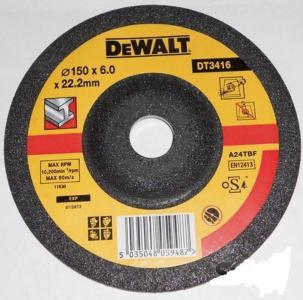 Slipeskive DeWalt 150x6 mm