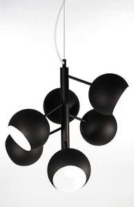 Globen Lighting Pendel Rondo Svart