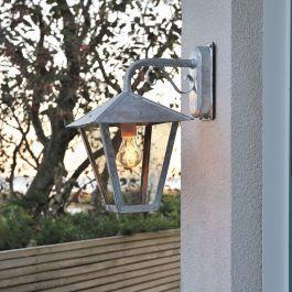 Vegglampe Benu ned Konstsmide Galvanisert, E27