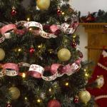 Neviti Papirgirlander med julenisser - Jul
