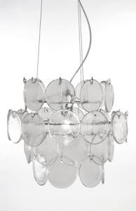 Globen Lighting Pendel Cirrus Klar