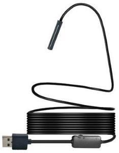 YPC110 Vanntett 8mm Inspeksjonskamera med USB og Trådløs Sender - 7m - Svart